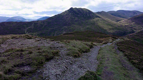 Causey Pike from Barrow